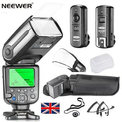 NW565N Pro i-TTL Flash Speedlite Kit for Nikon DSLR Camera +2.4GHz Trigger Kit