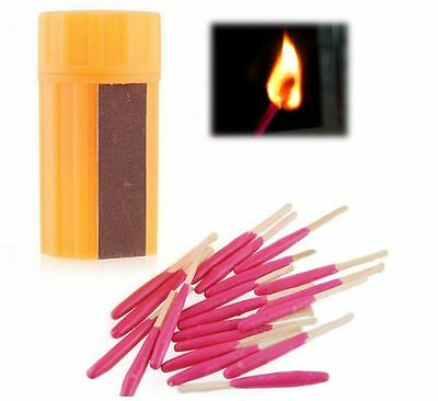 Windproof Waterproof Storm Matches Set Hiking Camping Festivals Survival UK