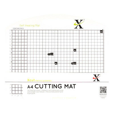 Xcut A4 Self Healing Duo Cutting Mat, Black/ White XCU 268431
