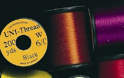 Uni Thread Pre-Waxed 200 yard spools - Veniards