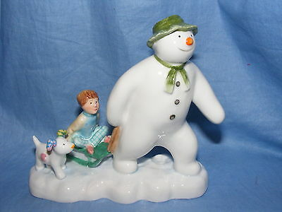 John Beswick The Snowman Billy And The Snowdog JBS7 Raymond Briggs New Boxed