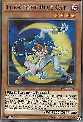 Yu-Gi-Oh Card: Lunalight Blue Cat - Rare - Shvi-En008