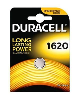 3x Duracell 1620 3V Lithium Coin Cell Batteries CR1620/DL1620 Battery - New