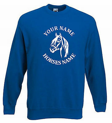 Kids Horse Riding Jumper Horse Jumping Sweater Dressage Horseriding Ages 5-15 H3