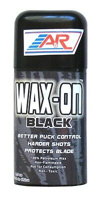 NEW A&R Rub On Ice Street Roller Hockey Stick Wax Improved Puck Control Black