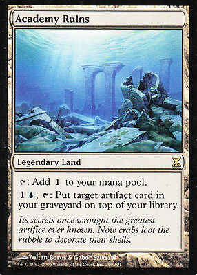 MTG 1x Academy Ruins from Time Spiral NM -La Place-