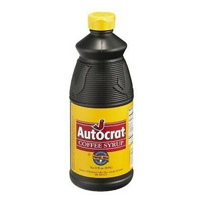 2 ~ 32oz  AUTOCRAT COFFEE SYRUP from Rhode Island (get 2 bottles)