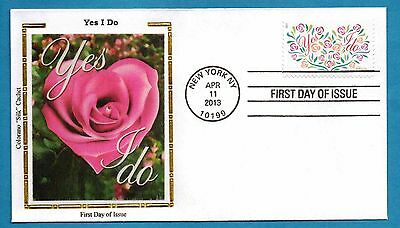 Colorano 4765 Yes I Do - 66 cent Love Stamp First Day Cover