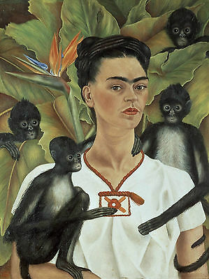 Frida Kahlo Poster 13 - Various Sizes - Waterproof Wipe Clean Laminated Option