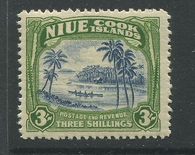 Niue 1938 3/ unmounted mint NH