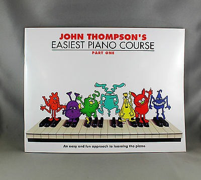 John Thompson's Easiest Piano Course Part One - Brand New