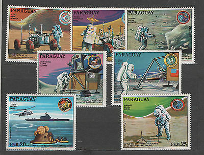 Paraguay stamp set MNH  SPACE astronauts  - 0446