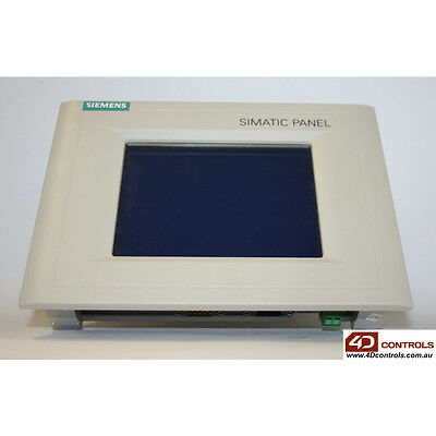Siemens 6AV6 545-0BA15-2AX0 SIMATIC TP170A Touch Panel, 6-in, Mono - Used