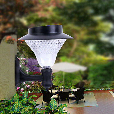Outdoor Garden Solar Power Light Pathway Gutter Fence Yard Wall Roof 16 LED Lamp