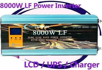 32000W/8000W LF Pure Sine Wave 48V DC/240VAC 50Hz Power Inverter LCD/UPS/Charger