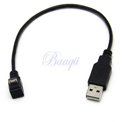 Angled 90 Degrés Micro USB Vers USB Data Charge Cable Pour Samsung S2S3 N7100 HG