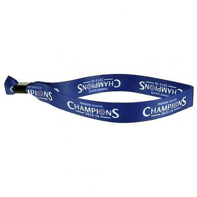 Leicester City Festival Wristband Champions Official Licensed Football Product