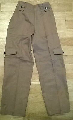 Girls combat trousers,NEW with Tag, Age 7,8,9,10,11,12,13 year old, fawn/mink
