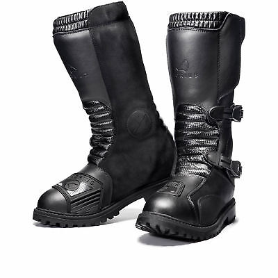 Agrius Sierra Motorcycle Boot Motorbike Touring Protection Leather Adventure