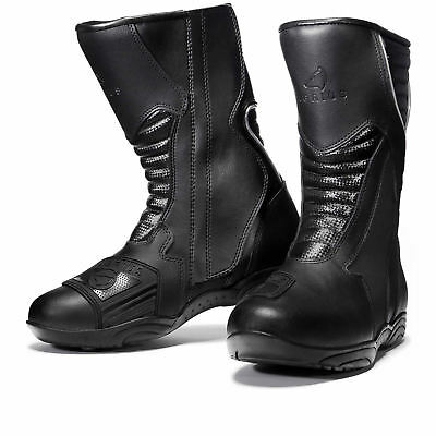 Agrius Oscar Motorcycle Boot Protection Motorbike Road Leather Biker Cruiser