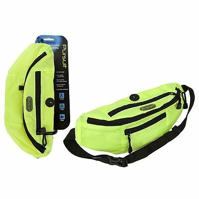 Pursuit Hi Viz Lightweight Running Waist Bag MP3 Pocket Pouch Bum Bag