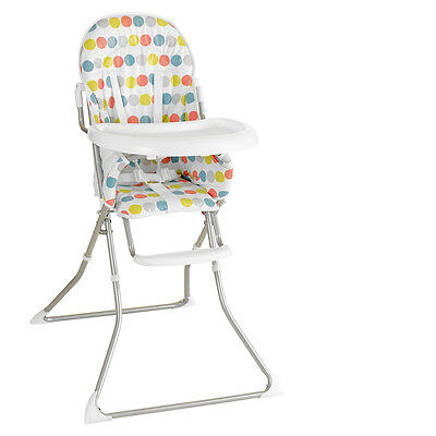 New My Child Pepper Highchair Bobble Lightweight Folds Flat Has Footrest & Tray
