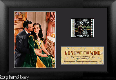 Film Cell Genuine 35mm Framed Matted Gone With The Wind Special Edition USFC5807