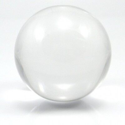 75mm Contact Ball - 100% Crystal Clear Acrylic Ball - Manipulation Juggling