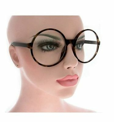 Big Large XXL Oversized Eyeglasses Women Fashion Vintage Retro Frames Clear Lens
