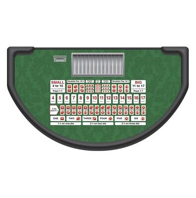 NEW Monaco - Sic Bo Table Layout - Green - MADE IN THE USA