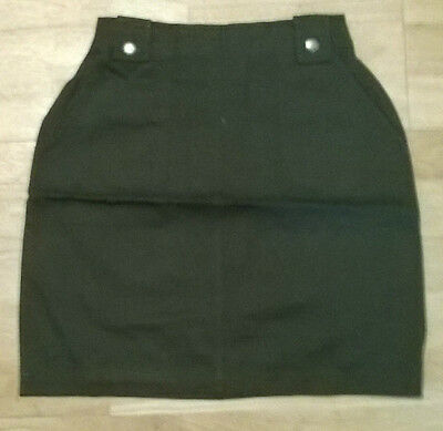 Girls trendy skirt ,NEW Age 7,8,9,10,11,12,13 yr old, Dark green khaki