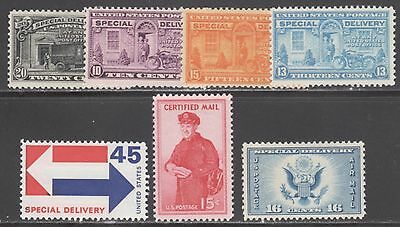 U.s. Stamps #ce1//fa1 -- -(7) Special Issues -- 1927+ --  Mint