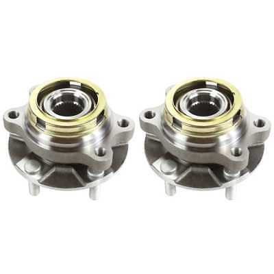 Pair (2) New Front Wheel Hub Bearing Assembly With Lifetime Warranty