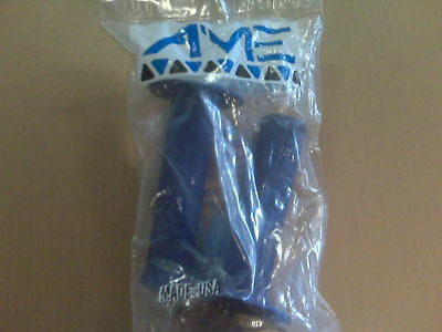 NEW AME Bike Bicycle Tri Grips Blue BMX
