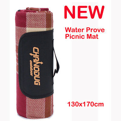 NEW 170x130cm Waterproof Picnic Mat Outdoor Camping Hiking Beach Pad Blanket Rug