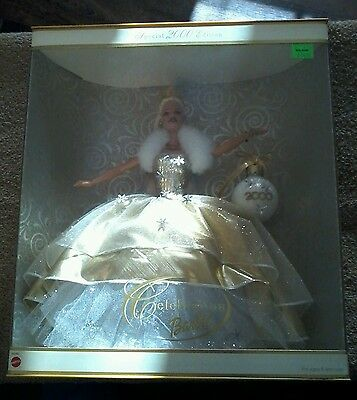 Celebration Gold Outfit Gown 2000 Barbie Doll NIB