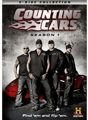 Counting Cars: Season 1 [New DVD] 2 Pack, Dolby, Subtitled, Widescreen