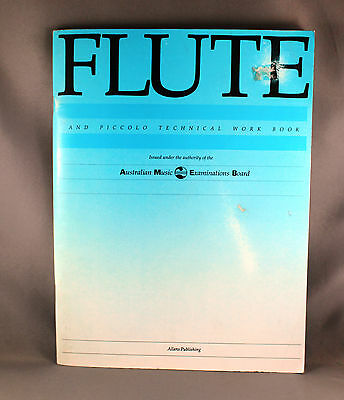 AMEB Vintage Flute & Piccolo Techinical Workbook - Brand New