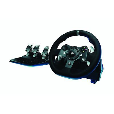Logitech G920 Driving Force Racing Steering Wheel and Pedals for PC and Xbox One