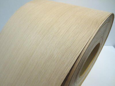 Real wood Veneer Oak american with Hot melt adhesive iron-on 30 cm Wide
