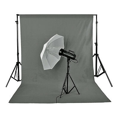 Neewer Photo Studio 100% Pure Muslin Backdrop 10 x 12ft Grey Background