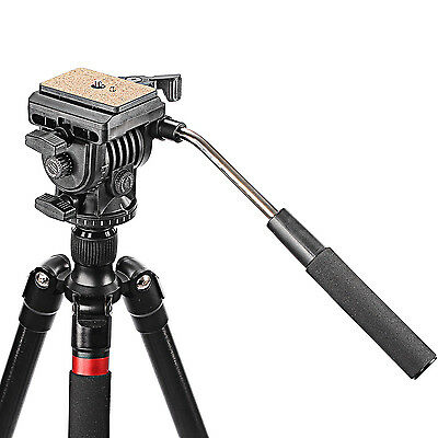 """Neewer Fluid Video Head Camera Head for Camera with 1/4"""" Thread for Canon Nikon"""