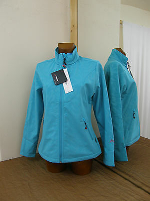 Soft Shell Jacke, türkies von Maier Sports Gr. 38.40.42.