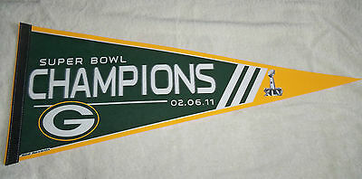 NFL : Green Bay Packers Super Bowl XLV Large Pennant - New