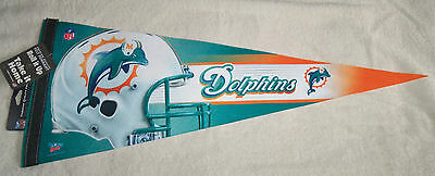NFL Miami Dolphins Premium Large Pennant New