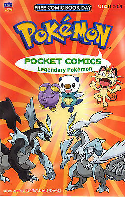Pokemon Pocket Comics - Fcbd 2016 - New