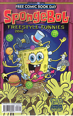 Spongebob Freestyle Funnies  - Fcbd 2016 - New