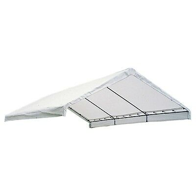 18X30 Canopy White Replacement Cover For 2 Inch Frame, Fr Rated New