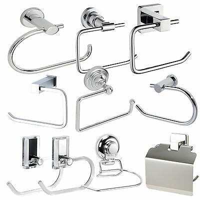 Suction, Stick On & Wall Mounted Toilet Roll Holders | Showerdrape