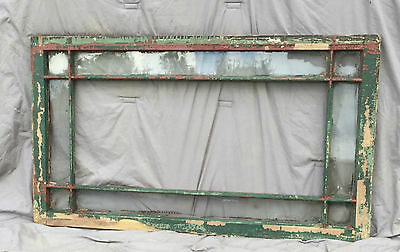 9 Lite Antique Window Sash Shabby Cottage Chic Garden Old Vtg 913-16